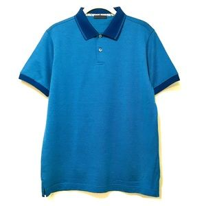 Lux 2-Color Polo - NWOT